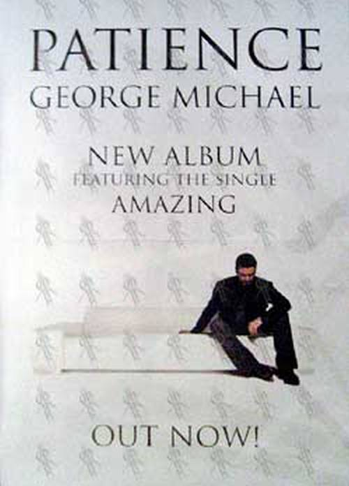 MICHAEL-- GEORGE - 'Patience' Album Poster - 1