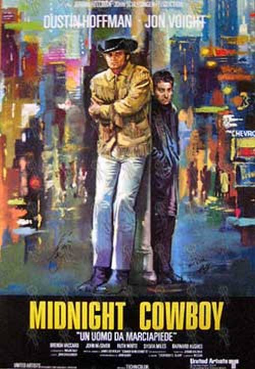 Image result for midnight cowboy poster