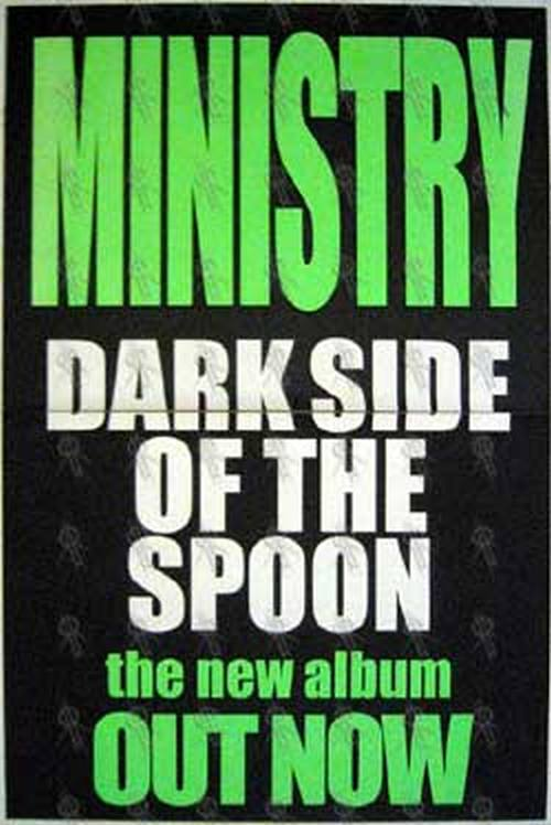 MINISTRY - 'Dark Side Of The Spoon' Album Poster - 1