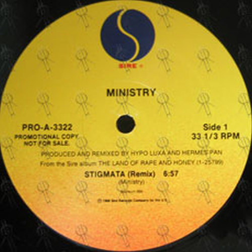 MINISTRY - Stigmata / Tonight We Murder - 1
