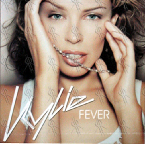 MINOGUE-- KYLIE - 'Fever' 12 Inch Cardboard Flat - 1