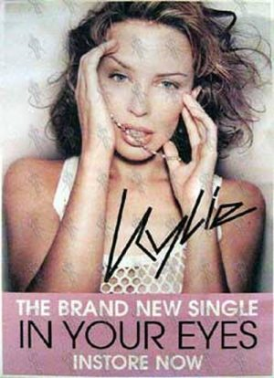 MINOGUE-- KYLIE - 'In Your Eyes' Single Poster - 1