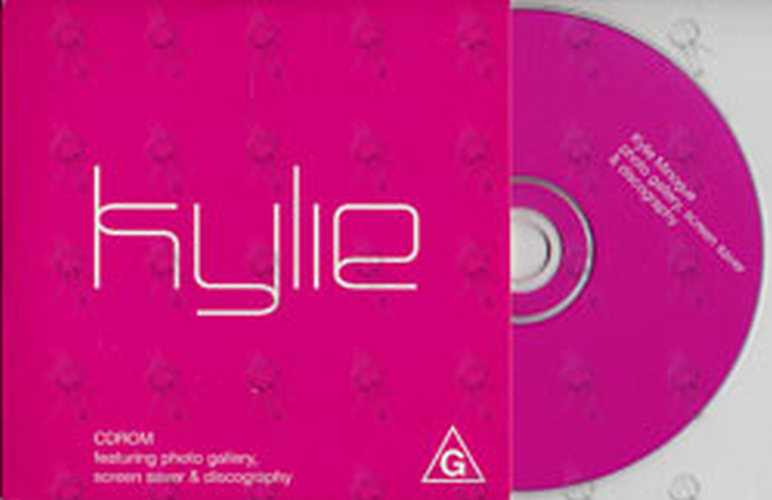 MINOGUE-- KYLIE - Light Years CD-ROM - 1