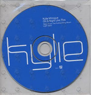 MINOGUE-- KYLIE - On A Night Like This - 1