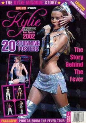 MINOGUE-- KYLIE - Total Hits! - Kylie Unauthorised Tour Special 2002 - Limited Collector's Issue - 1