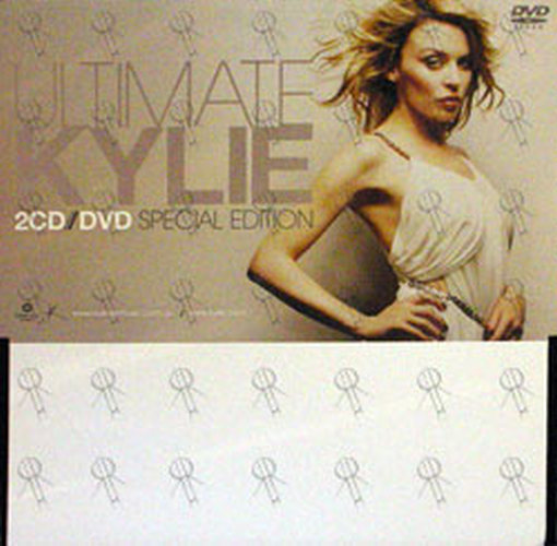 MINOGUE-- KYLIE - 'Ultimate Kylie' Album Promo Display - 1