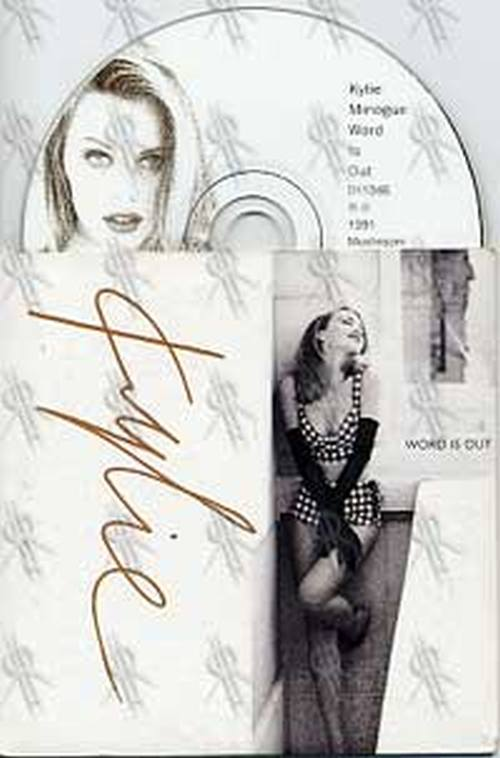 MINOGUE-- KYLIE - Word Is Out - 1