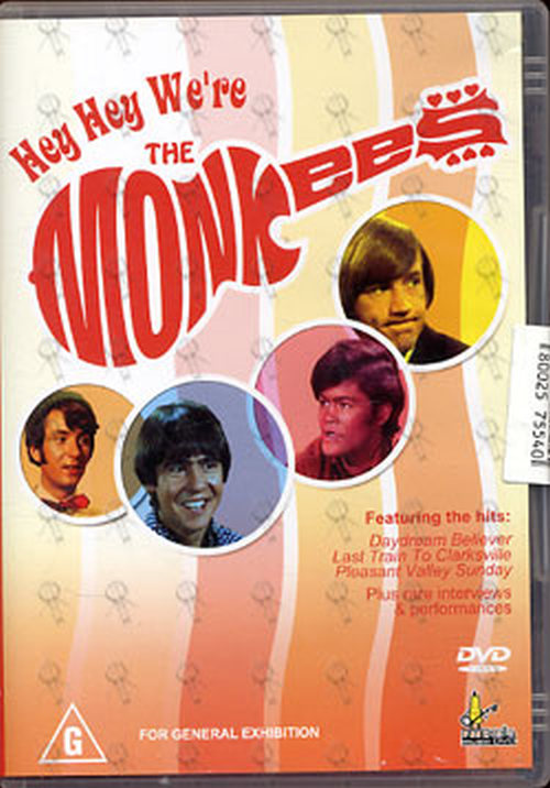 MONKEES-- THE - Hey Hey We're The Monkees - 1
