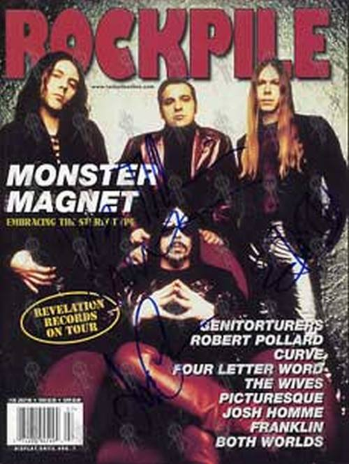 MONSTER MAGNET - Rockpile Magazine July 98 Issue 36 - 1