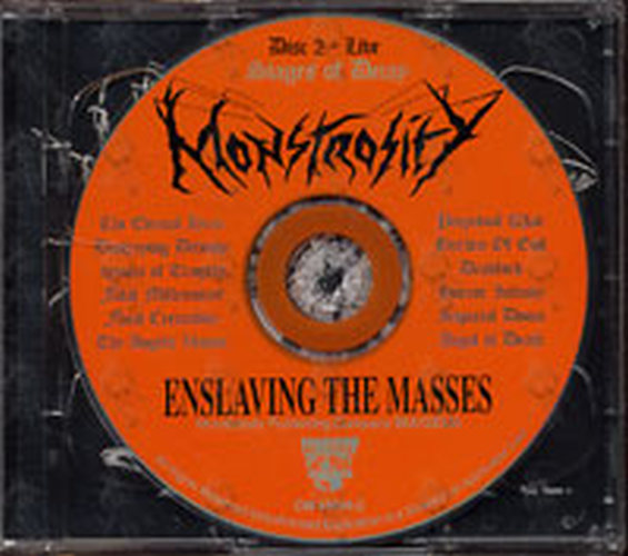 Monstrosity - Enslaving The Masses