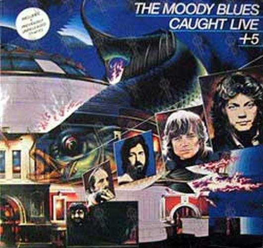 MOODY BLUES-- THE - Caught Live + 5 - 1