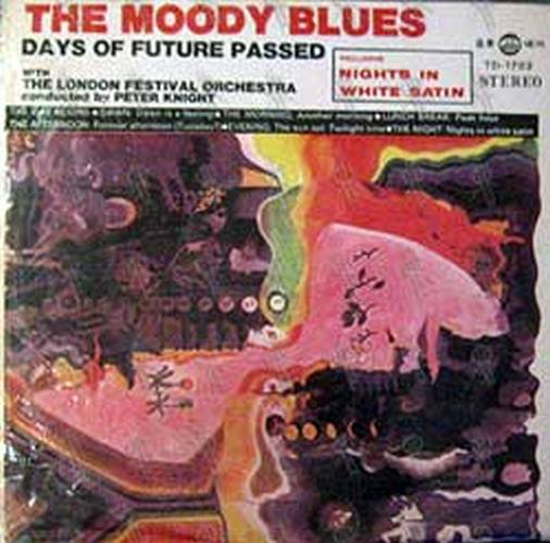 MOODY BLUES-- THE - Days Of Future Passed - 1
