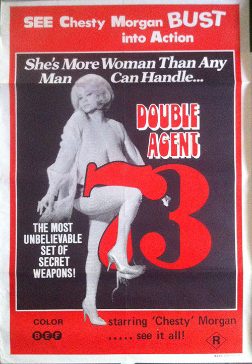 MORGAN-- CHESTY - Double Agent 73 Movie Poster - 1