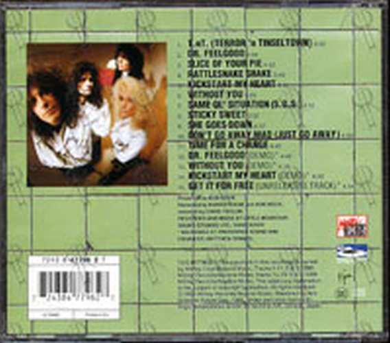 MOTLEY CRUE - Dr. Feelgood - 2
