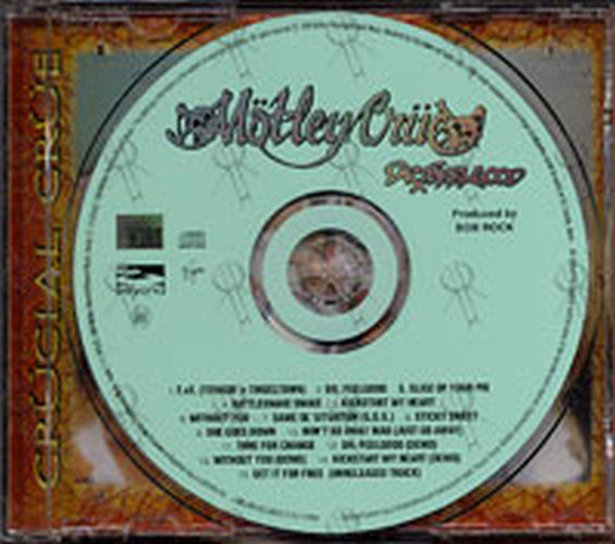 MOTLEY CRUE - Dr. Feelgood - 3