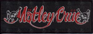 MOTLEY CRUE - Embroidered 'Skull Logo' Design Patch - 1