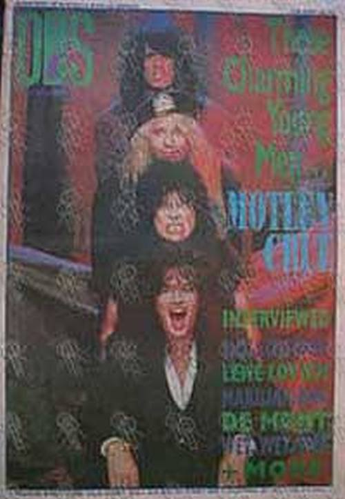 MOTLEY CRUE - 'On The Street' - 25 April 1990 - Motley Crue On The Cover - 1