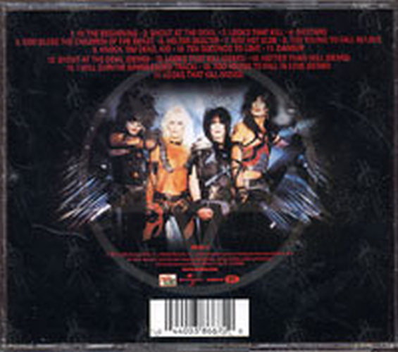 MOTLEY CRUE - Shout At The Devil - 2