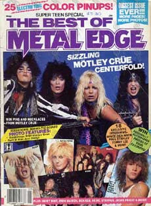 Kg 99 Magazines: 'The Best Of Metal Edge'