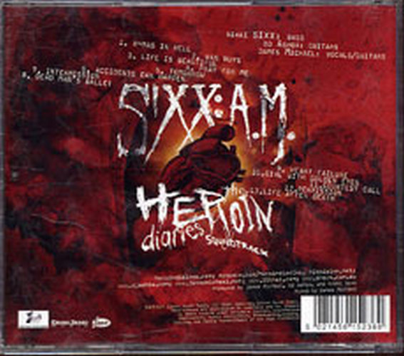 MOTLEY CRUE - The Heroin Diaries Soundtrack - 2