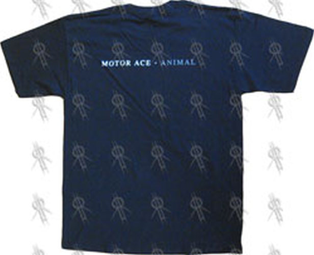 MOTOR ACE - Black 'Animal 'T-Shirt - 3