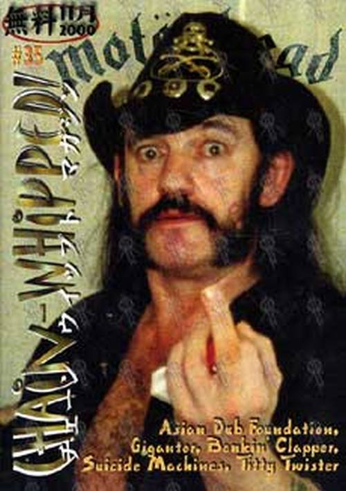 MOTORHEAD - 'Chain-Whipped' - #35 2000 - Lemmy On The Cover - 1