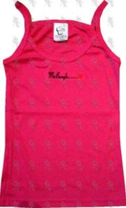 MR BUNGLE - 2000 California Australian Tour Embroidered Girls Pink Singlet - 1