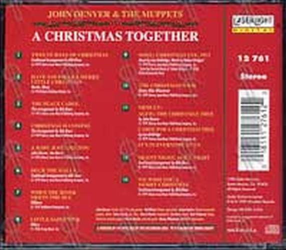 Muppets The A Christmas Together Album Cd Rare Records