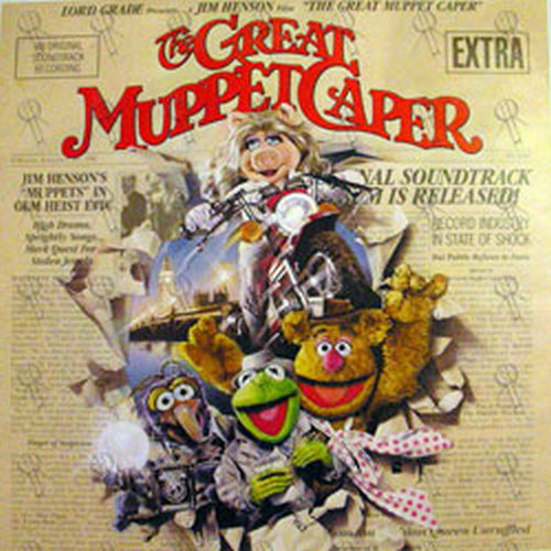 Muppets The The Great Muppet Caper Promo Poster