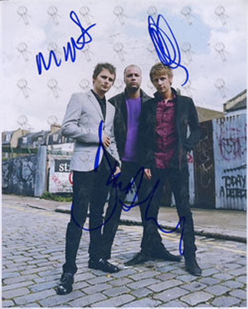 MUSE - Autographed Muse Photograph - 1