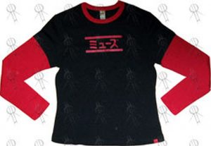 MUSE - Black & Red Girls 'Absolution' 2004 Japanese Tour Long-Sleeve T-Shirt - 1
