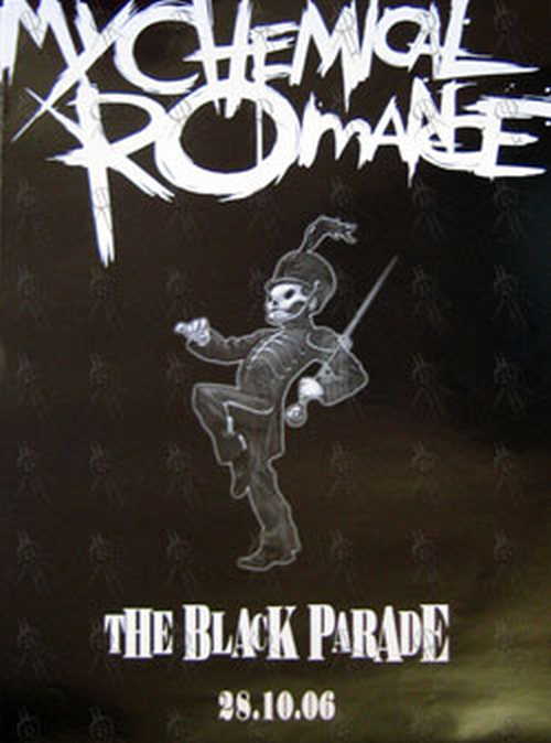 My Chemical Romance The Black Parade Album Poster With