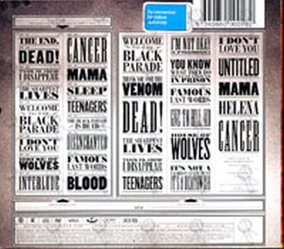 MY CHEMICAL ROMANCE - The Black Parade Is Dead! - 2