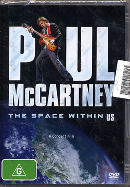 McCARTNEY-- PAUL - The Space Within US - 1
