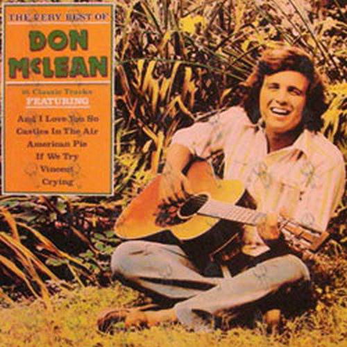 mclean don the very best of don mclean 12 inch lp. Black Bedroom Furniture Sets. Home Design Ideas
