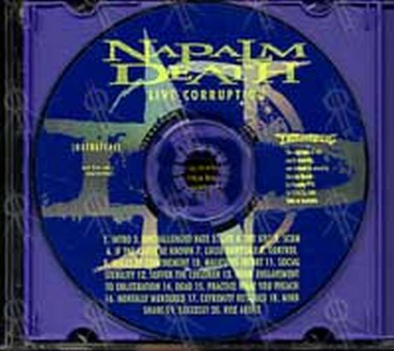 Napalm Death Diatribes Album Cd Rare Records