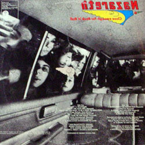 NAZARETH - Close Enough For Rock 'N' Roll - 2
