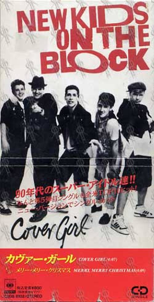NEW KIDS ON THE BLOCK - Cover Girl - 1