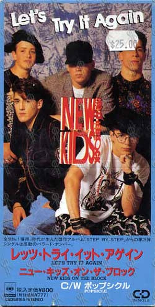 NEW KIDS ON THE BLOCK - Let's Try It Again - 1