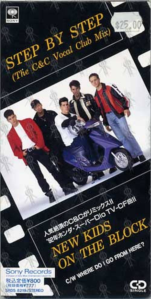 NEW KIDS ON THE BLOCK - Step By Step (The C&C Vocal Club Mix) - 1