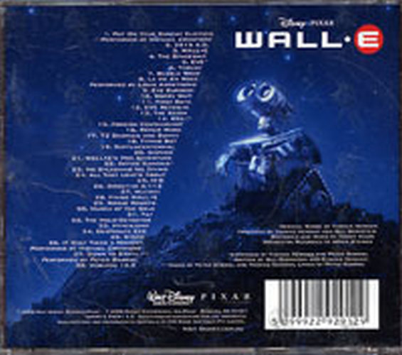 Newman Thomas Wall E An Original Walt Disney Records Soundtrack