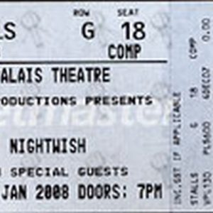 NIGHTWISH - Palais Theatre