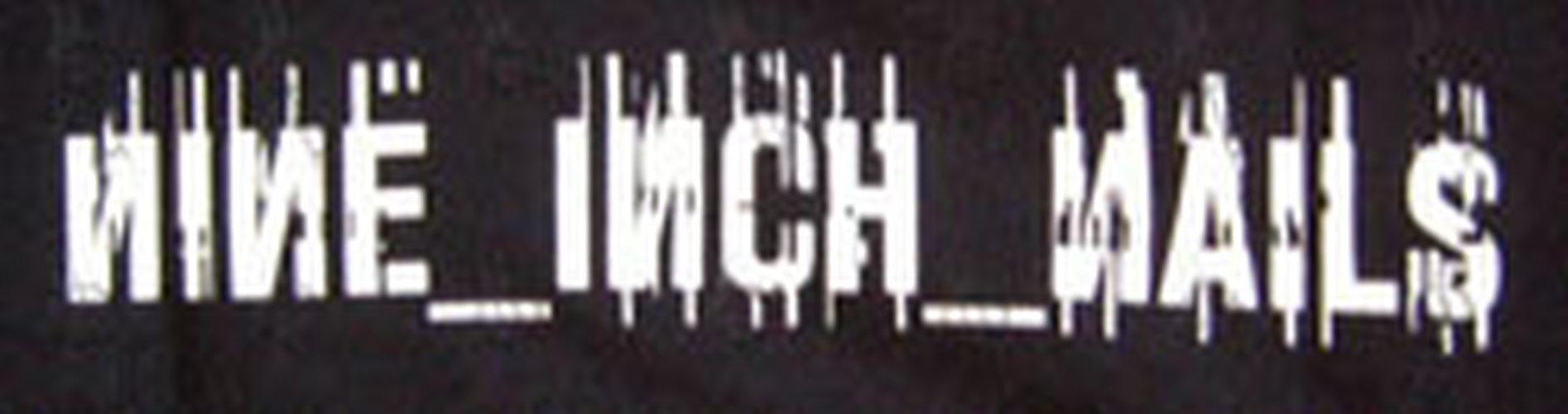 NINE INCH NAILS - Black \'Live: With Teeth 2005\' Australian Tour T ...