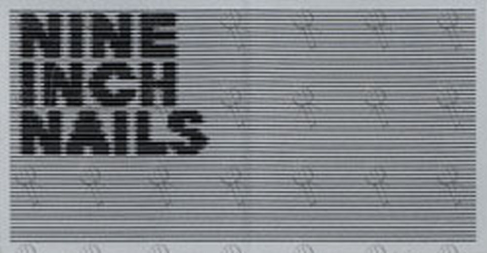 NINE INCH NAILS - Black & White \'Year Zero\' Era Sticker ...