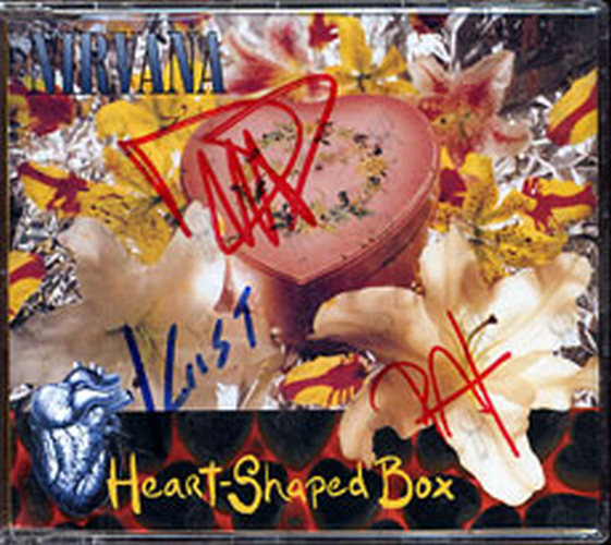 NIRVANA - Heart Shaped Box - 1