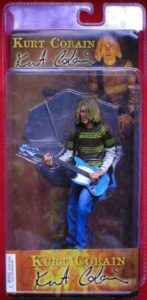 NIRVANA - Kurt Cobain 'Smells Like Teen Spirit' Design Collectable Figurine - 1