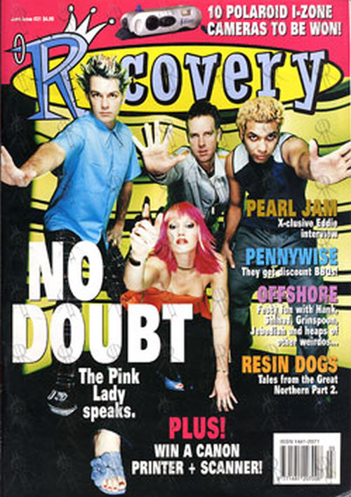 Kg 99 Magazines: No Doubt On Cover