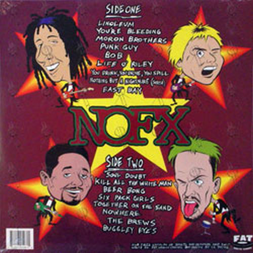 nofx i heard they suck live 12 inch lp vinyl rare records. Black Bedroom Furniture Sets. Home Design Ideas