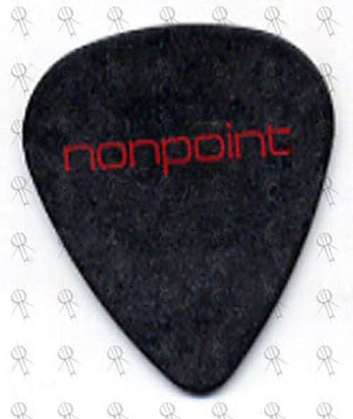 NONPOINT - Black Guitar Pick - 1