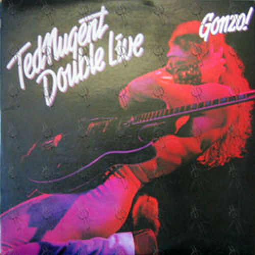 Nugent Ted Double Live Gonzo 12 Inch Lp Vinyl